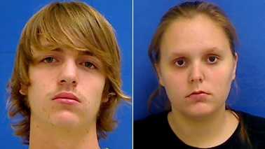 Daniel Rhoney, left, and Elizabeth Fowler, right