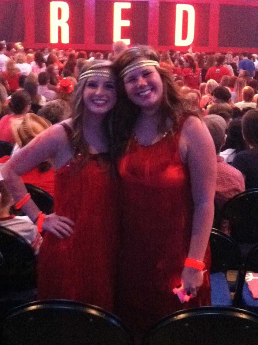 Check out photos from Thursday night's Taylor Swift show in Greensboro! (Thanks to WXII producer Kellen Young for the photos.)