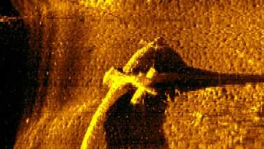 Lake Norman plane Sonar