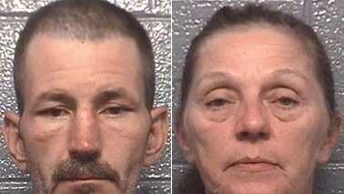 Marcus Dean Clemmer, left, and Teresa Gail Smith, right