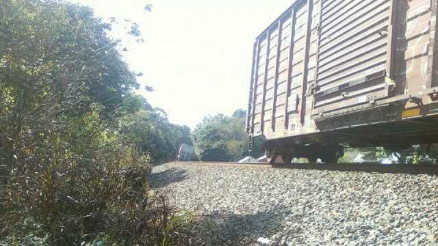Ruffin train derailment