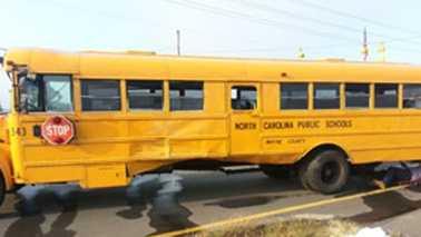 School bus crash in Wayne County