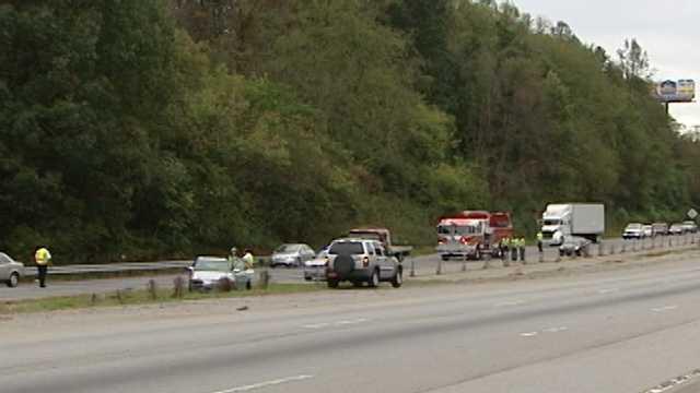 I-77 crash in Yadkin County