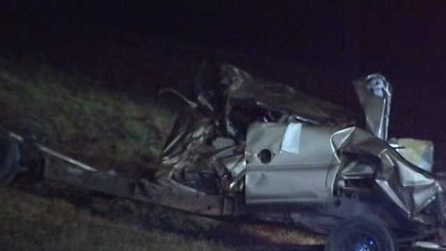 Serious crash on Old Highway 52