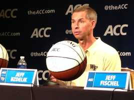 Wake Forest coach Jeff Bzdelik
