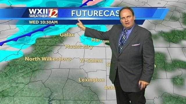 Now, we'll check futurecast images at various times.
