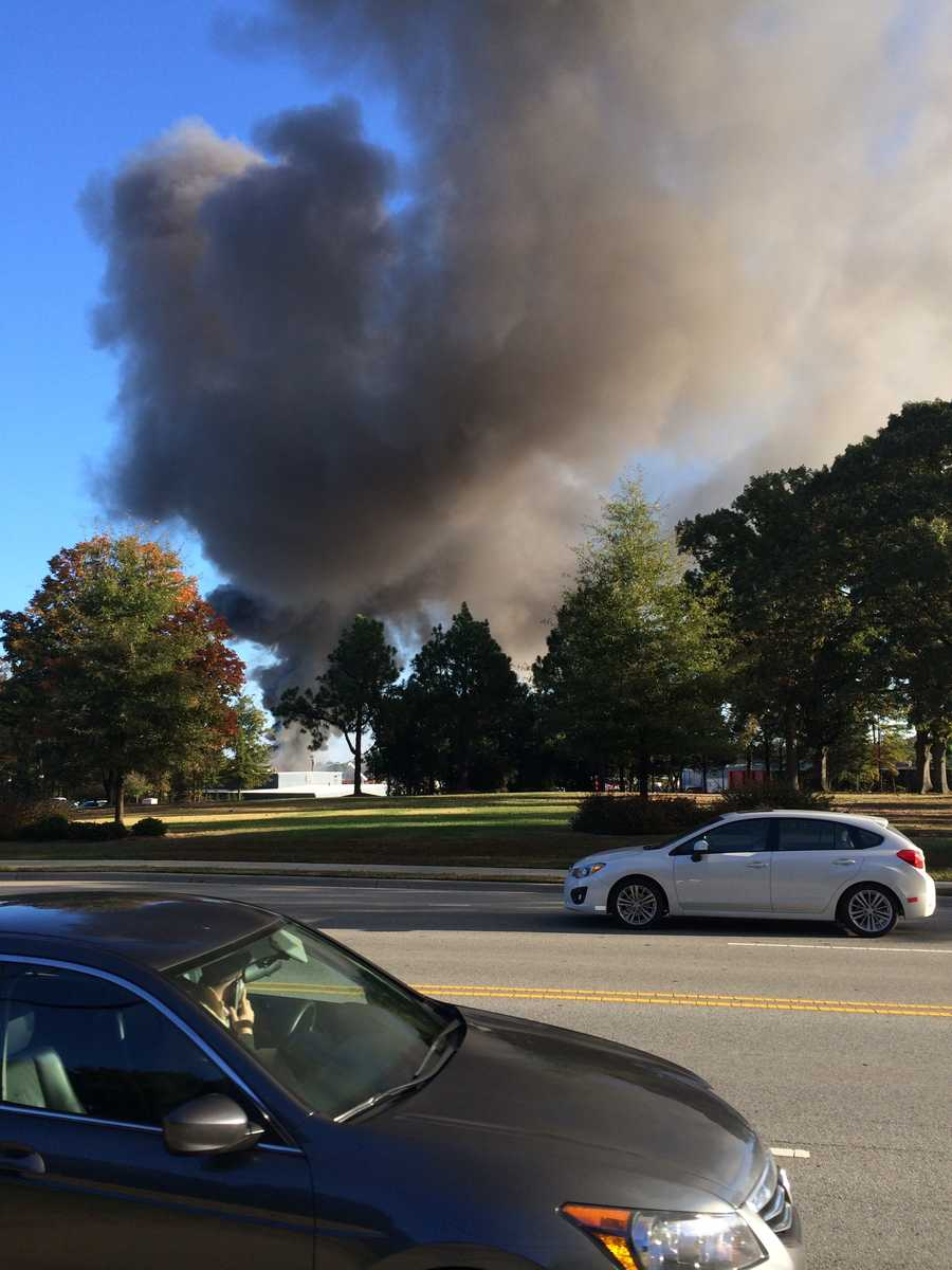 Fire crews on Friday battled a blaze in the 4700 block of Hilltop Road in Guilford County.