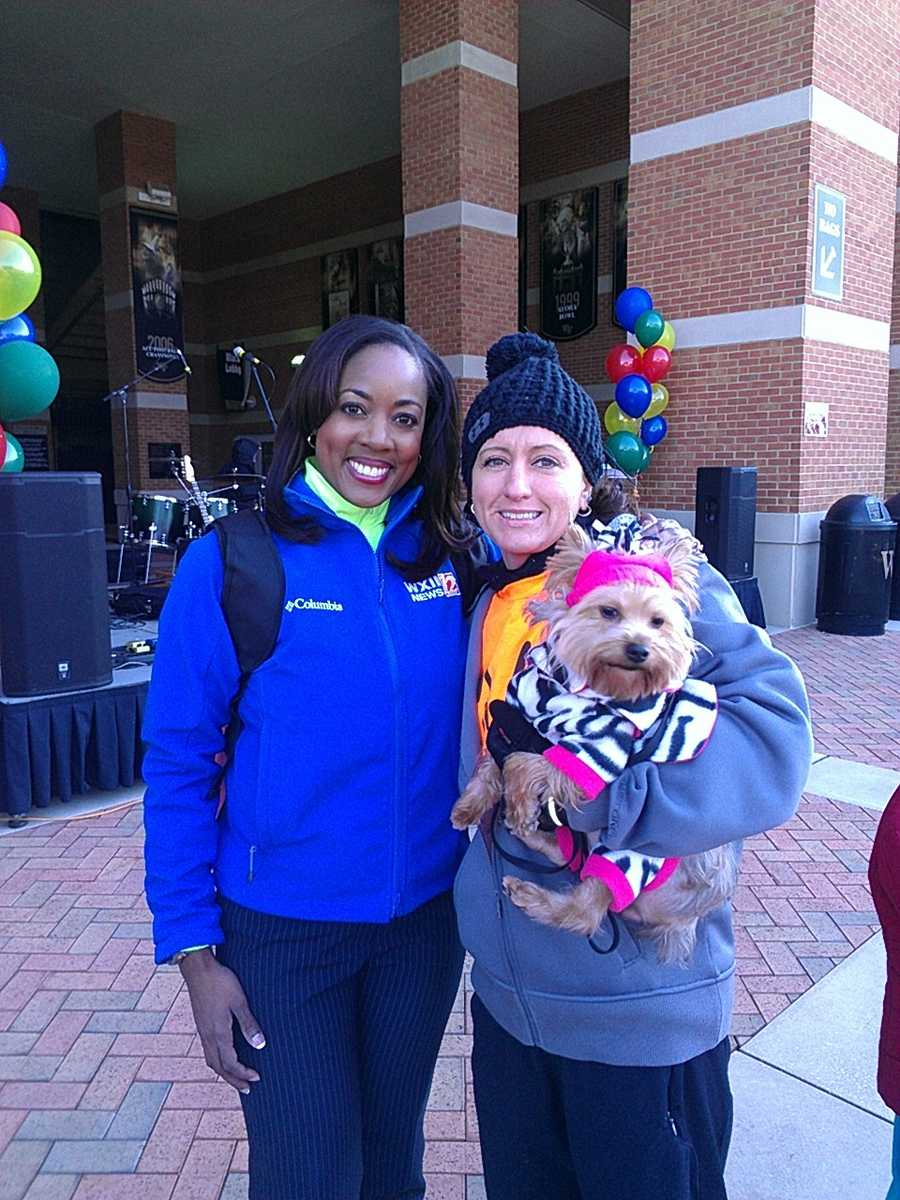 Dozens turned out Saturday for the JDRF Walk to Cure Diabetes, including WXII's Talitha Vickers.