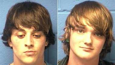 Trey Kincaid Boggs, left, and Stormy Lee Lundy, right