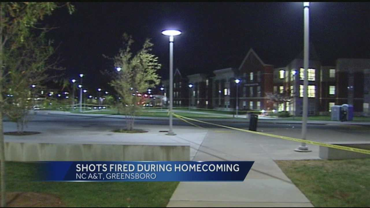 Shooting at NC A&T Homecoming