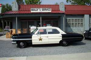 12. Fun fact - Nicole Ducouer and her parents once rode in Barney's squad car, and it broke down! They had to push it.
