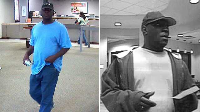 Suspect in Winston-Salem bank robberies