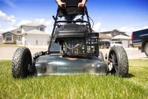 19. Back to yard work: Plant slow-growing or low-growing grass so you don't have to mow the lawn as often. Or use ground covers that blanket the area.