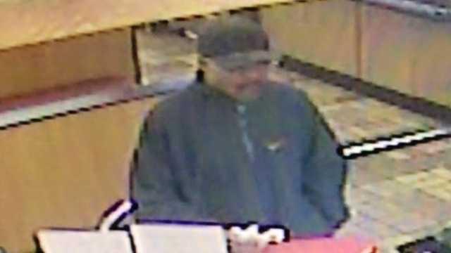 Surveillance image of KFC robbery suspect