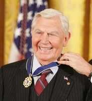 20. Let's close with a fact about the late Andy Griffith. He received the Presidential Medal of Freedom in 2005.