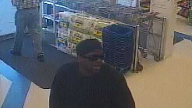 Surveillance image of Rite Aid robbery