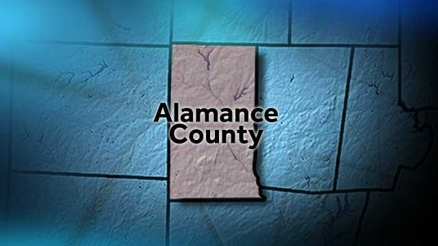 Alamance County map