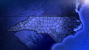 old NC North Carolina state outline map generic