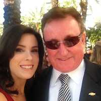 Nicole and Richard Childress