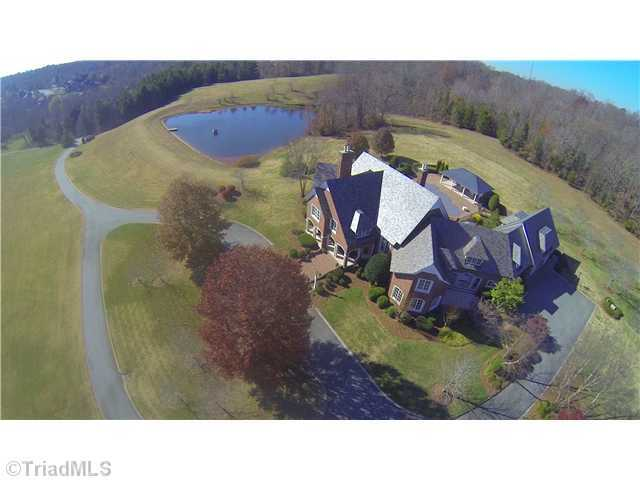 This English Country Estate is located in High Point and priced at $1,675,000.