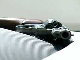 9. Create the felony criminal offense of shooting a gun within an enclosed area to incite fear.