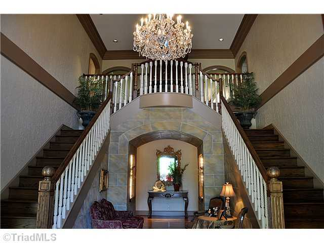 Grand Foyer with dual Staircases