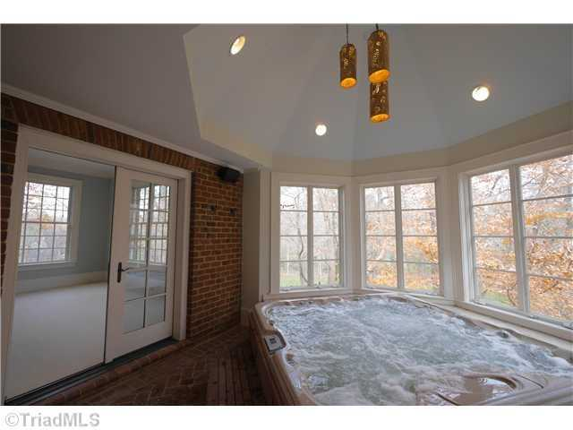 Hot Tub Room located just off the Master Suite