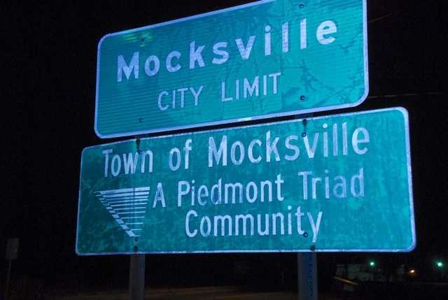 We are broadcasting live in Mocksville.