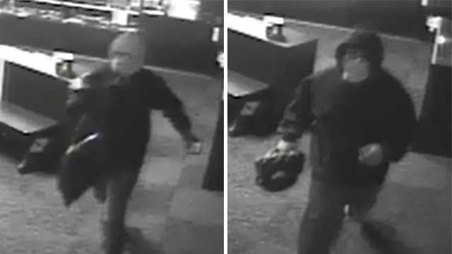 Surveillance image of Boost Mobile break-in suspects in Burlington