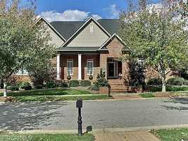 This four bedroom home is located in Winston-Salem and priced at $1,100,000.