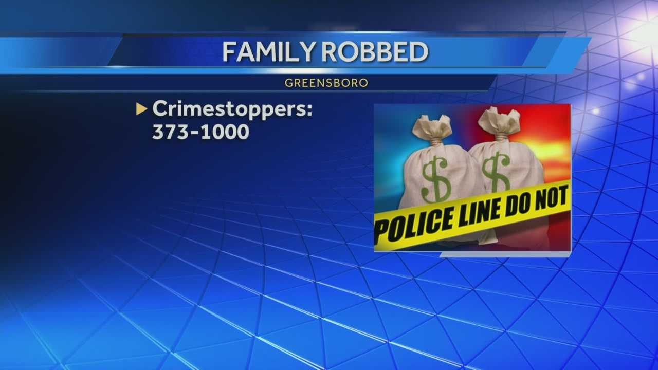 Robberies in the Triad