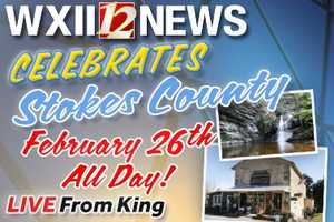 """We hope you enjoyed """"WXII Celebrates Stokes County!"""" Here are 20 fun things we learned about the area. #celebratestokes"""