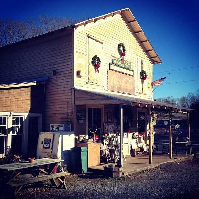 "Priddy's General Store near Danbury offers folks the taste, sight, sound and feel of the ""good ole days."""