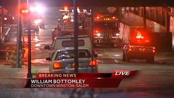 More than a dozen fire trucks responded to the scene. The fire was under control at 4:14 a.m., but firefighters stayed on scene to monitor hot spots.