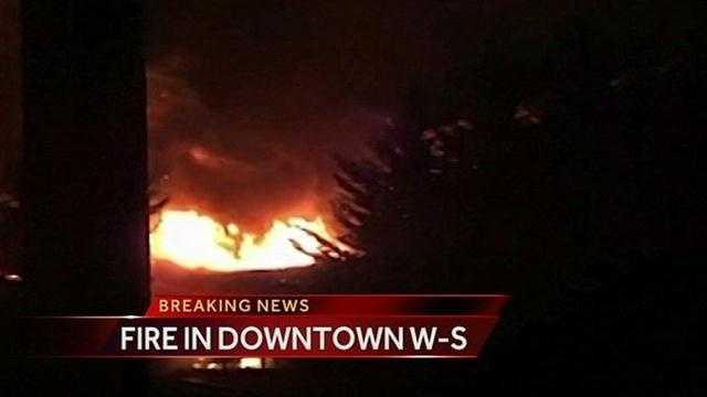 No one was injured.