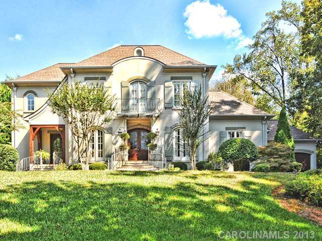 This four bedroom Charlotte estate is priced at 2,300,000.