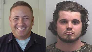 FEO Todd Martinez, left, and Andrew Barham, right (High Point Enterprise/Guilford County Jail)