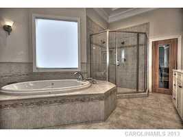 Master Bathroom with Sauna
