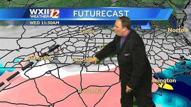 Let's start the Futurecast at 11:30 a.m. Wednesday.