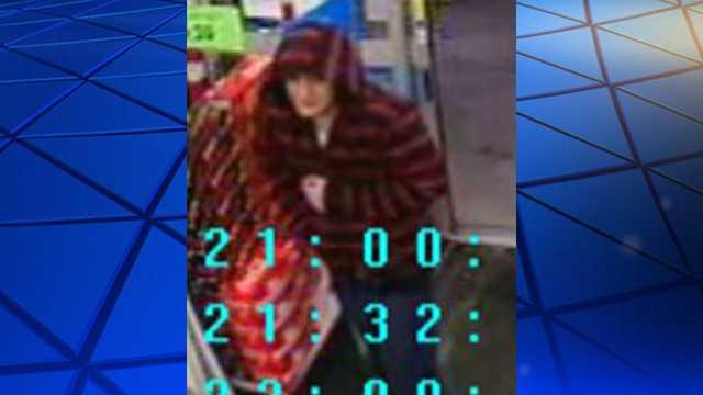 Surveillance image of Walgreens robbery suspect