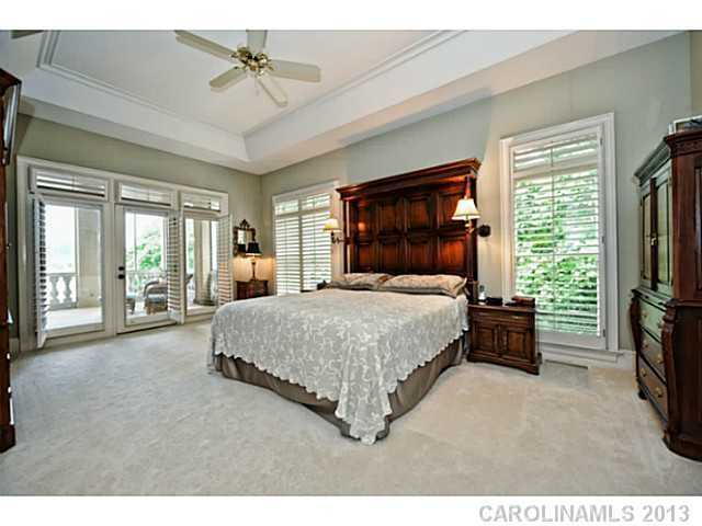 Master Bedroom with a private balcony