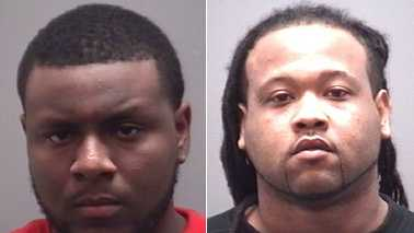 Deonte Bigelow, left, and Travis Jeffries, right