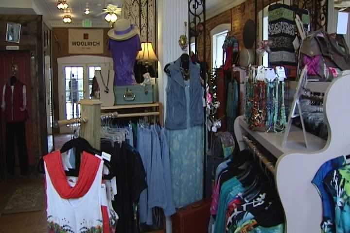 Joyce Mauldin-Ray and her husband opened an upscale boutique called Dalton's Crossing two years ago. It opened in the old bank building in downtown King.