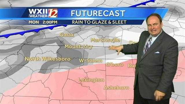 The National Weather Service has issued winter weather advisories for the Piedmont-Triad, Foothills and southwest Virginia.