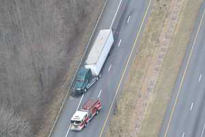 One person was injured in the Yadkin County crash, with the extent of the injury not immediately known. Mobile users can tap here for images from the scene of the Yadkin County crash.