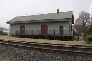 The Old Train Depot still stands in town, having been built in 1873. There are efforts taking place to restore the building to help showcase Kernersville's history.