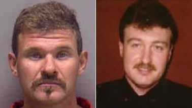 Scott Sica, left, and Sgt. Gregory Martin, right
