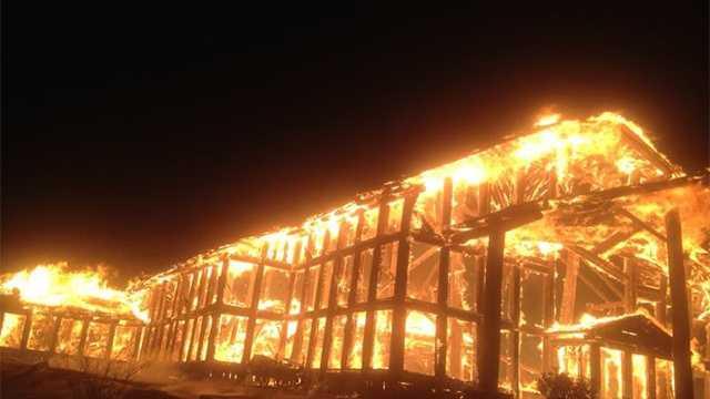 Wolf Ridge Ski Resort lodge destroyed in fire