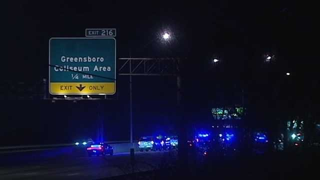 A chase near Randleman led to a wrong-way crash on Interstate 40 in Greensboro Thursday night.