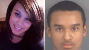 Danielle Locklear, left, and Je'Michael Malloy, right
